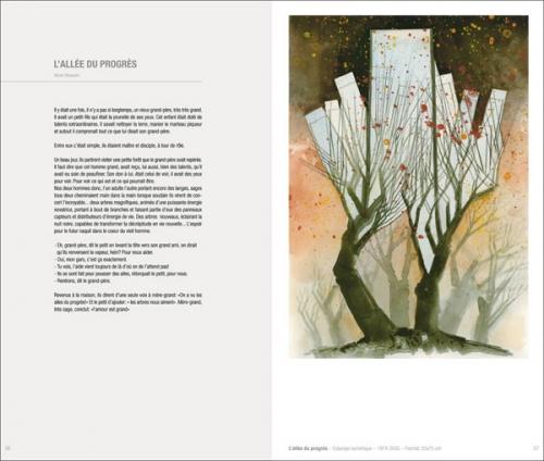 double page du livre par défaut